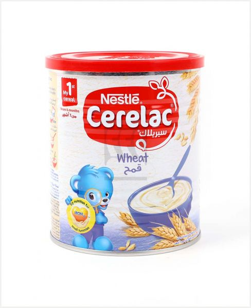 NESTLE CERELAC WHEAT 400GM