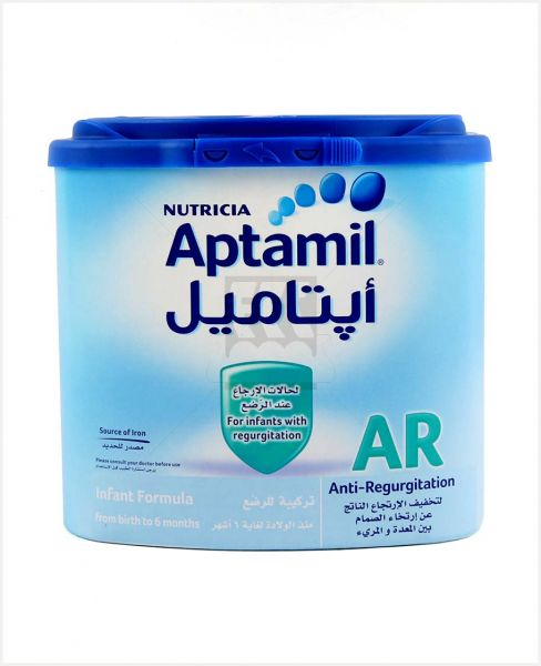 Milupa Aptamil Milk Ar Easy Pack 400gm