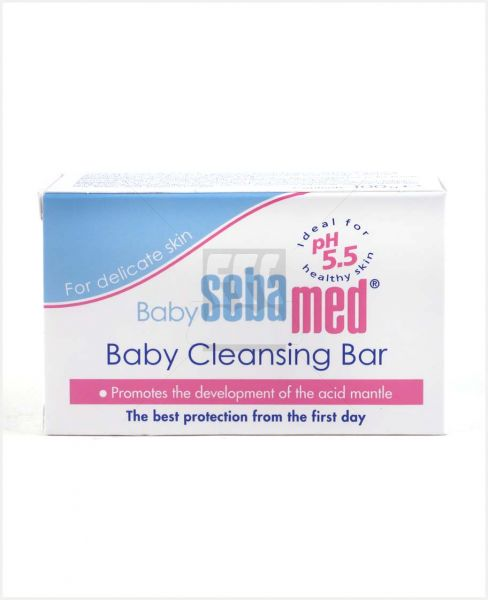 SEBAMED BABY CLEANSING BAR 100GM