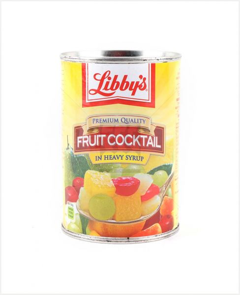Libby'S Fruit Cocktail In Heavy Syrup 420gm