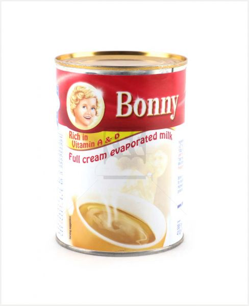 Bonny Full Cream Evaporated Milk 385ml(410gm)