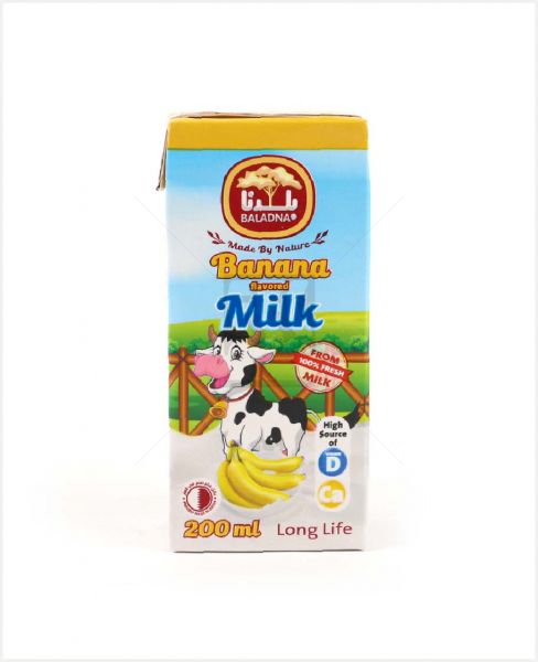 Baladna Uht Banana Flavored Milk 200ml