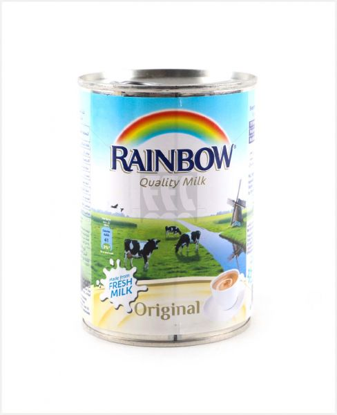 RAINBOW EVAPORATED MILK ORIGINAL (MFFM) 410GM