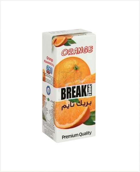 BREAK TIME ORANGE FLAVORED DRINK 200ML