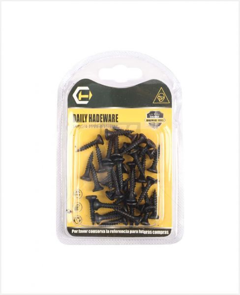 "Aac Daily Hardware Black Screw 0.8"" #11901138"