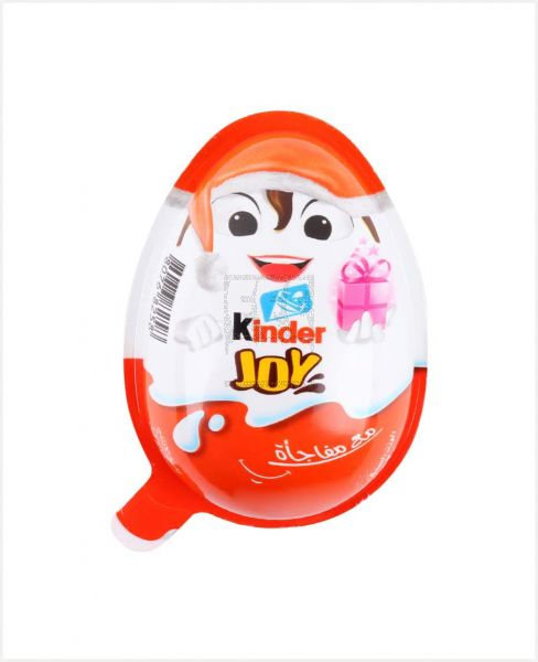 KINDER JOY RICH IN MILK WITH SURPRISE FOR GIRLS 20GM