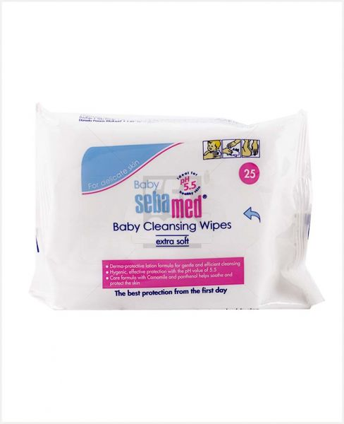 Sebamed Baby Cleansing Wipes Extra Soft 25pcs