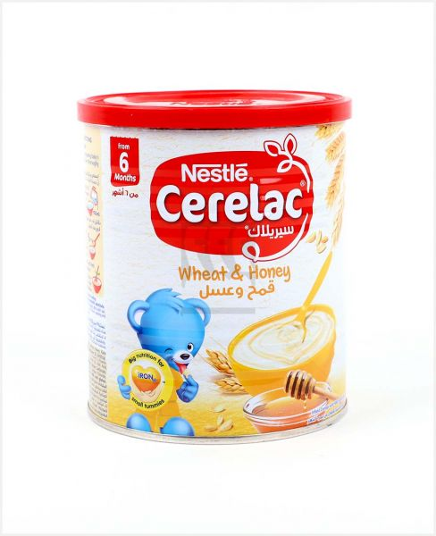 NESTLE CERELAC WHEAT AND HONEY 400GM