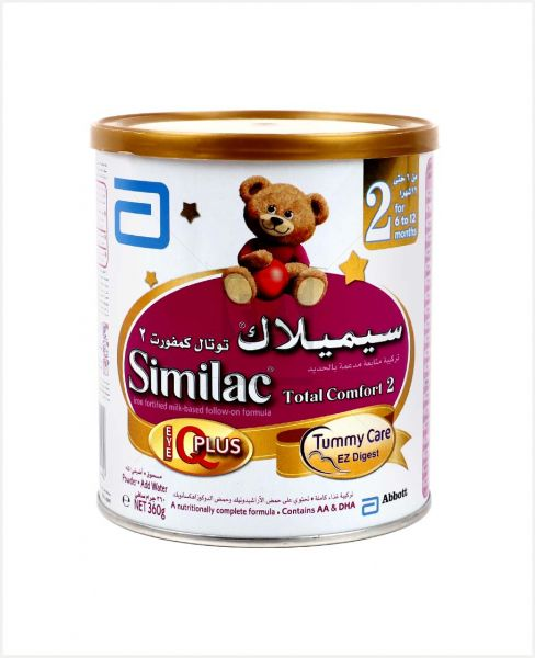Similac Total Comfort Stage 2 (Tummy Care) Milk Powder 360gm