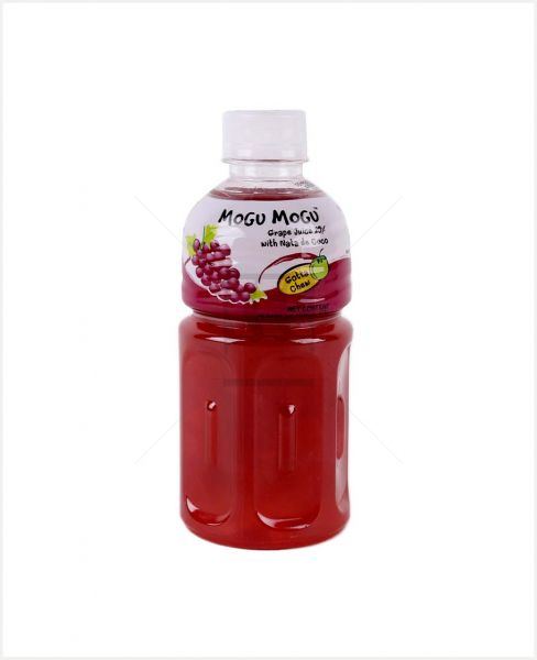 MOGU MOGU GRAPE JUICE 25% W/ NATA DE COCO 320ML