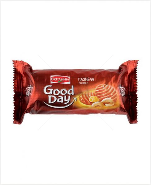 BRITANNIA GOOD DAY BISCUITS WITH REAL CASHEW 81GM