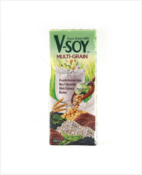 V-Soy Soya Bean Milk Multi-Grain 200ml