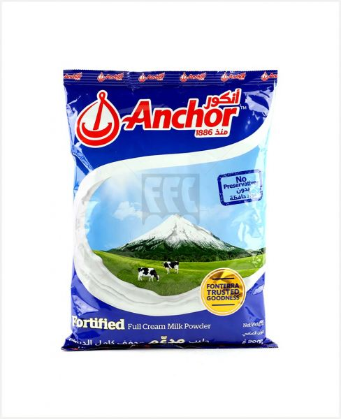 Anchor Milk Powder Pouch 900gm