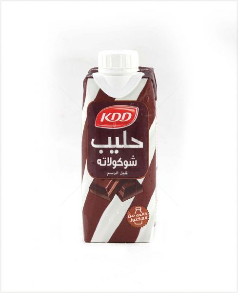 KDD LOW FAT LACTOSE FREE CHOCOLATE MILK (PRISMA) 250ML