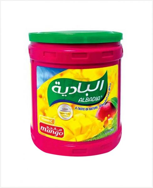 Al Badia Instant Flavored Drink Powder Mango 2kg