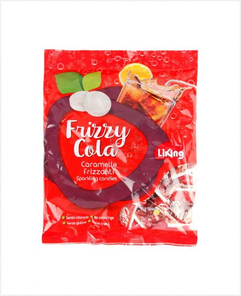 LIKING FRIZZY COLA SPARKLING CANDIES 250GM