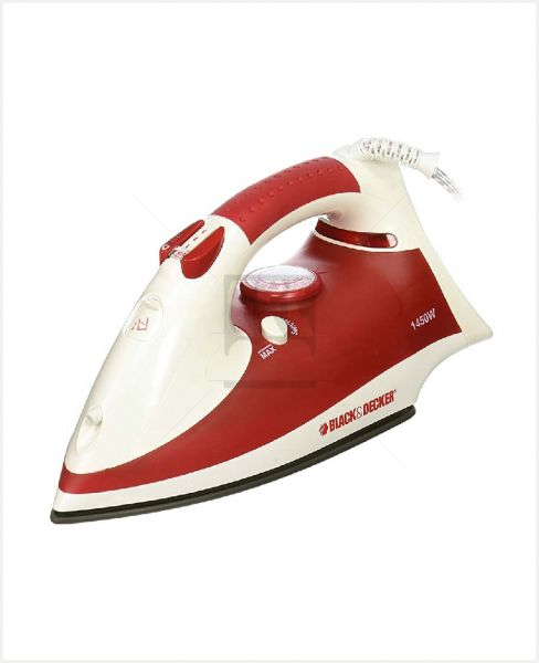 Black & Decker Steam Iron 1450w #X750r