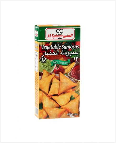 Al Kabeer Vegetable Samosa 240gm