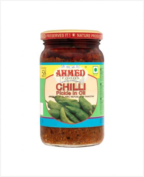 Ahmed Chilli Pickle In Oil 360gm