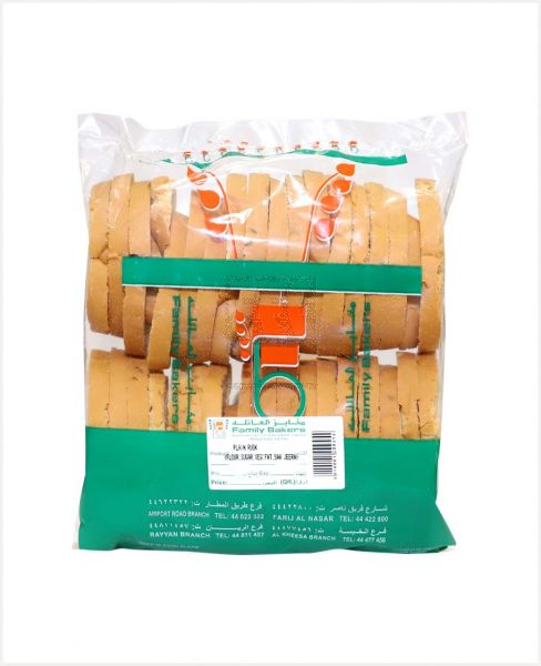 FAMILY BAKERS PLAIN RUSK