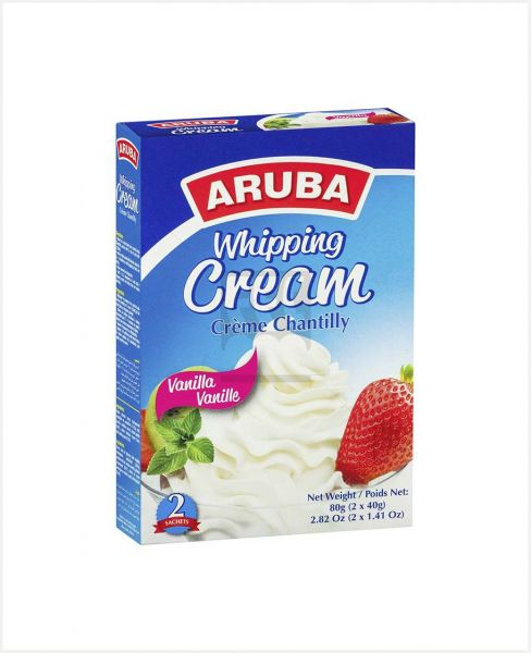 ARUBA WHIPPING CREAM POWDER VANILLA 80GM