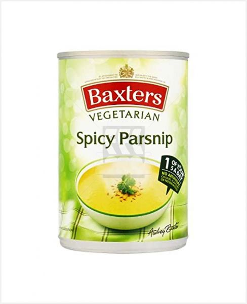 BAXTERS VEGETARIAN SPICY PARSNIP SOUP 400GM
