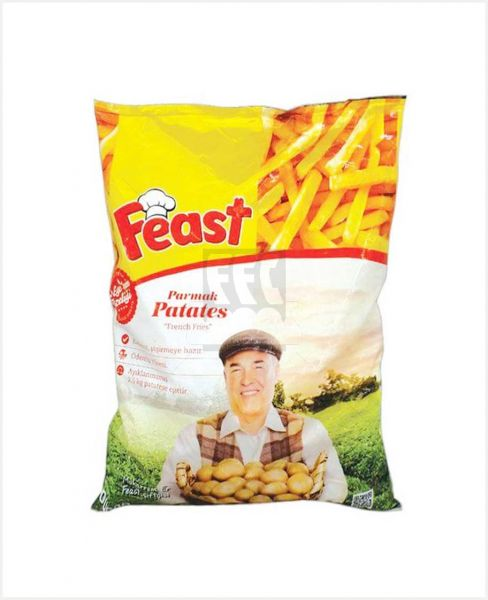FEAST FRENCH FRIES 1KG