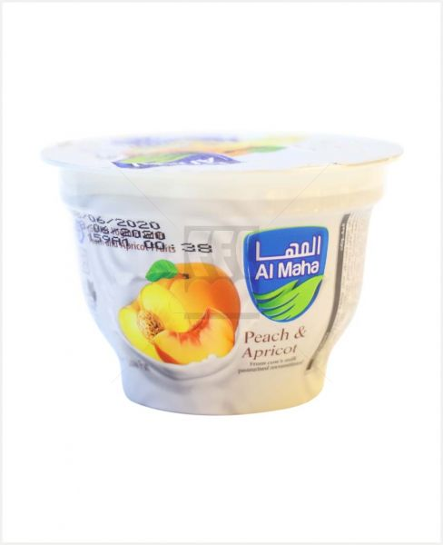 Al Maha Fruits With Yoghurt Peach N Appricot 100gm
