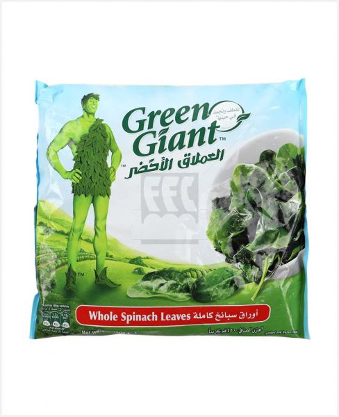 Green Giant Spinach Leaves 450gm