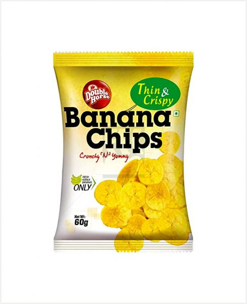 DOUBLE HORSE BANANA CHIPS 60GM