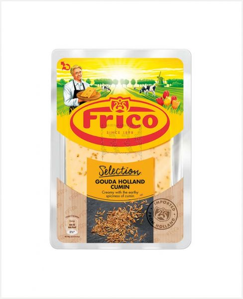 FRICO GOUDA CHEESE SLICE WITH CUMIN 150GM