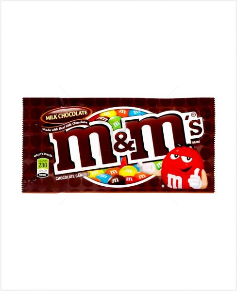 M&MS MILK CHOCOLATE 45GM