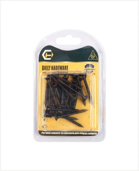"Aac Daily Hardware Black Screw 2"" #11901141"