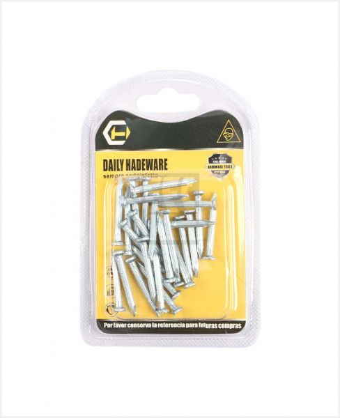 "AAC DAILY HARDWARE SILVER NAILS 1.5"" #11901130"