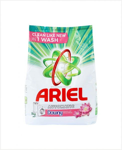 ARIEL LS WITH TOUCH OF DOWNY AUTOMATIC DETERGENT POWDER 3KG
