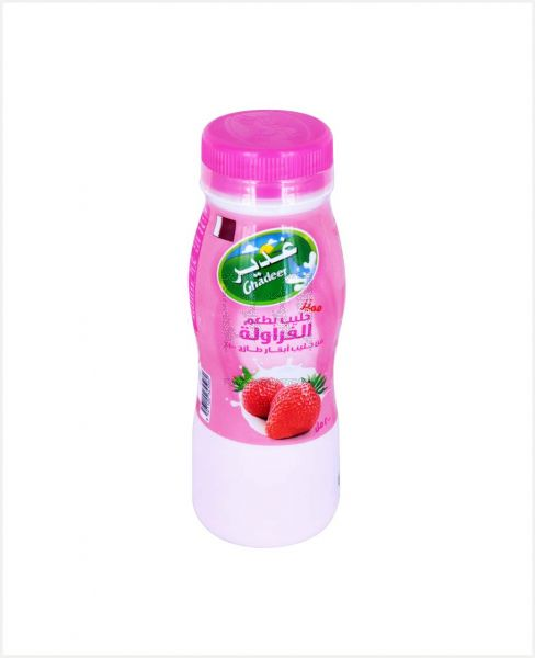 Ghadeer Super Strawberry Flavoured Milk 200ml