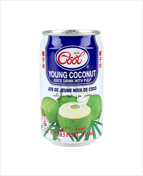 Ice Cool Young Coconut Juice With Pulp 310/330/300/Ml
