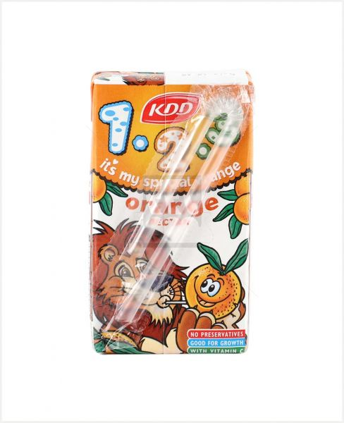KDD 123 ORANGE JUICE 125ML