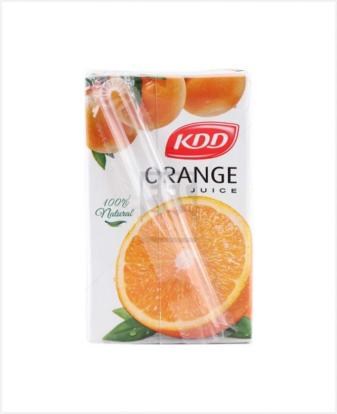 Kdd Orange Juice 250ml