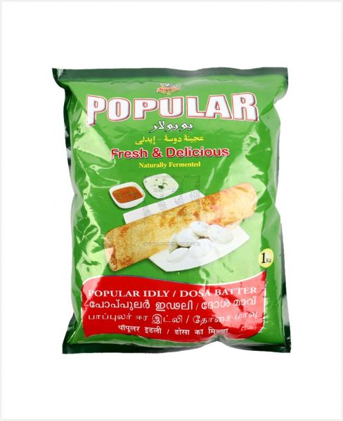 POPULAR IDLY/DOSA MIX READY TO COOK 1KG