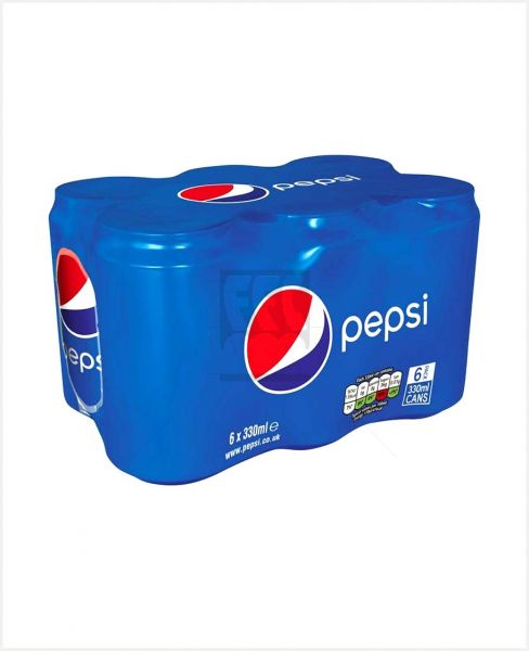 Pepsi Can 330ml 6pack