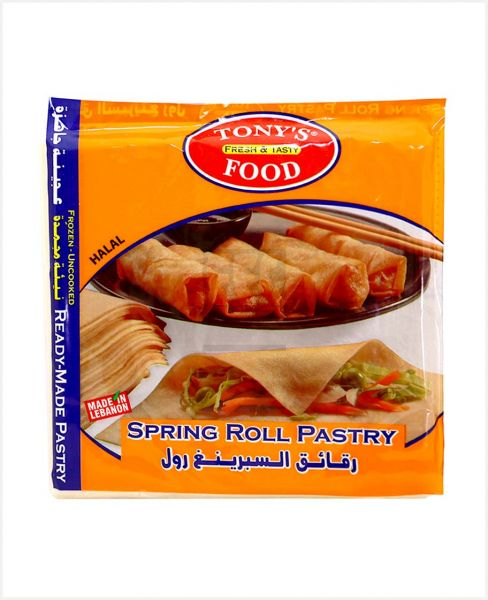 Tony'S Food Spring Roll Pastry 200gm